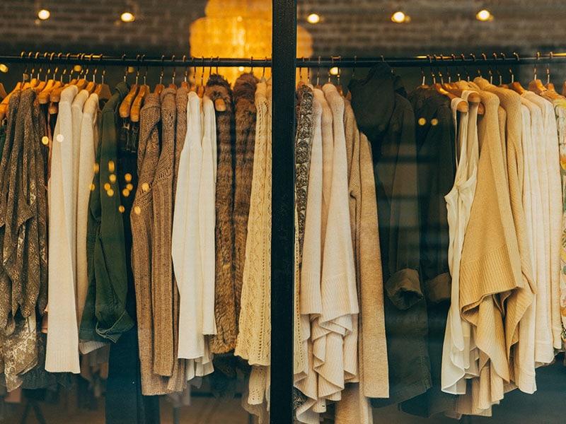 Custo de vida na Bélgica com compra de roupas