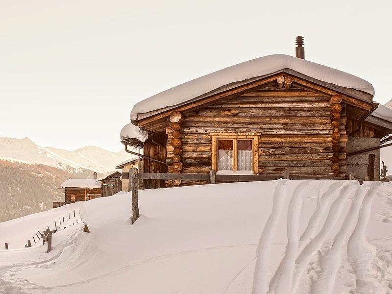 Suíça com neve