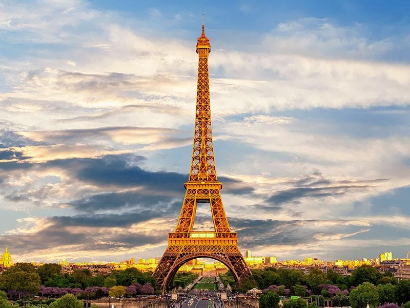 Clima e temperatura em Paris em agosto
