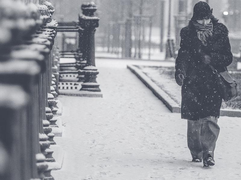 Passeio pela Europa no frio
