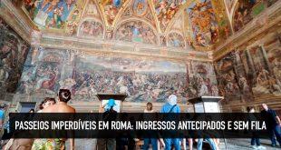 Tours guiados em Roma