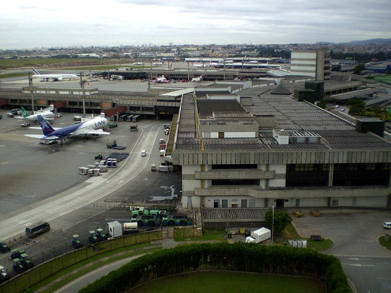 Aeroporto de Guarulhos para o centro