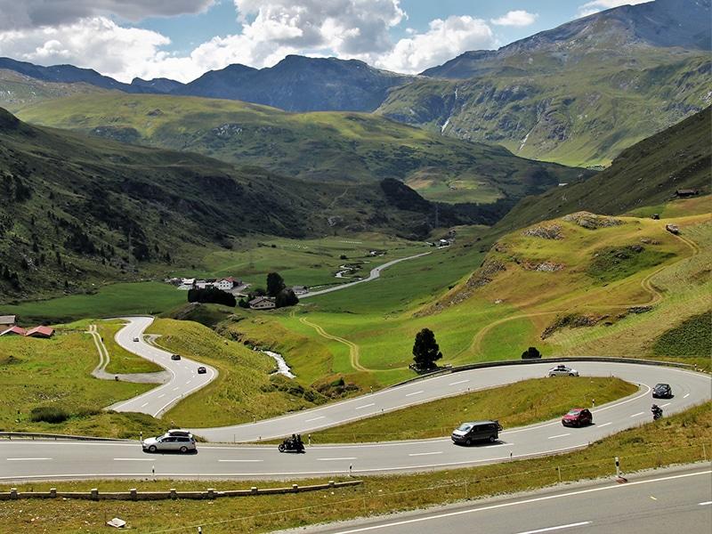 aluguel de carro na Suíça