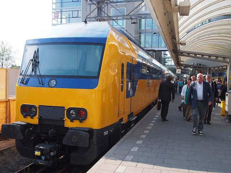 Estação de trem em Amsterdam