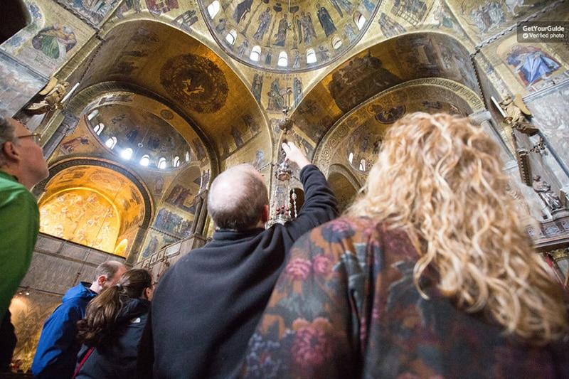 Catedral de São Marcos sem fila em Veneza