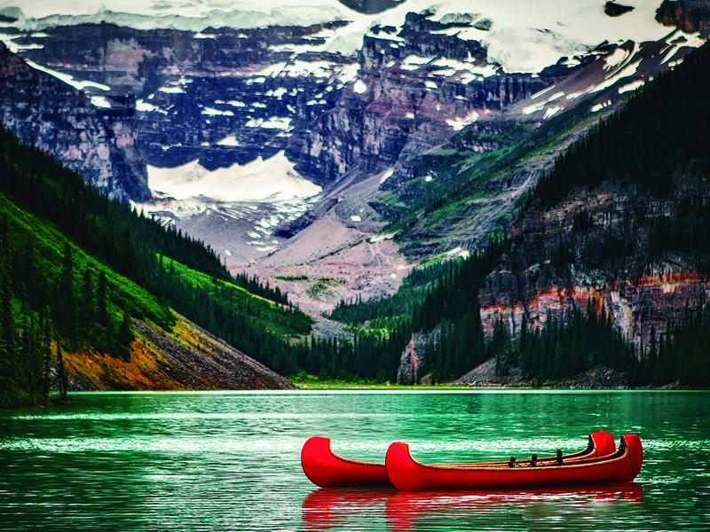Lago Lake Louise pontos turísticos do Canadá