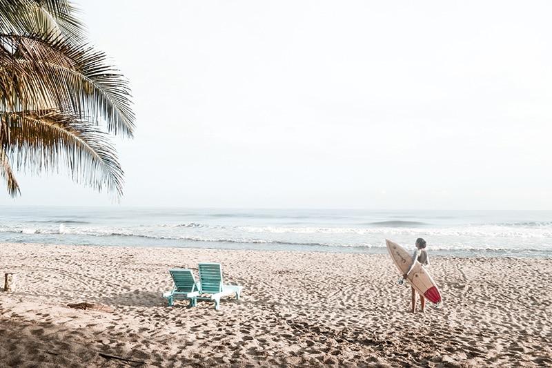 Picos de surf na Colômbia