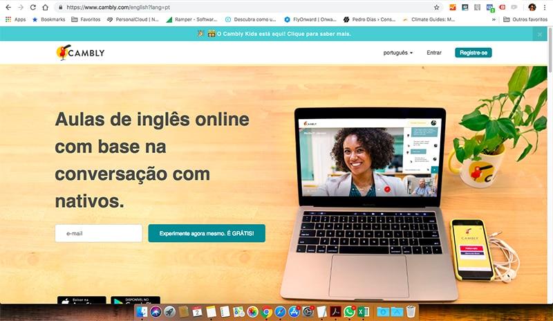 Como aprender em inglês online?