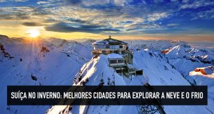 Destinos para ver neve na Suíça
