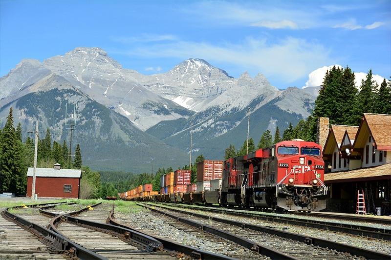 Preços da passagem de trem para Banff