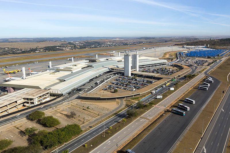 Aeroporto de Confins distância do centro BH