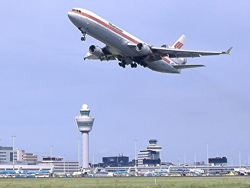 Como chegar no aeroporto de Amsterdam
