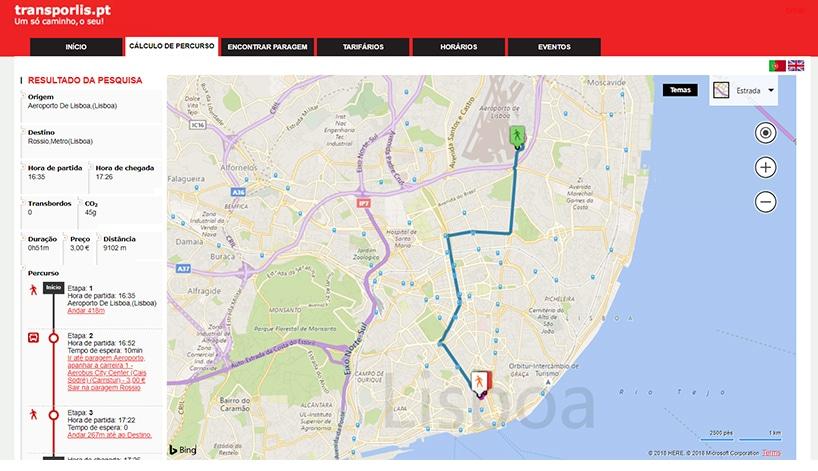 Como ir para o aeroporto de Lisboa de ônibus
