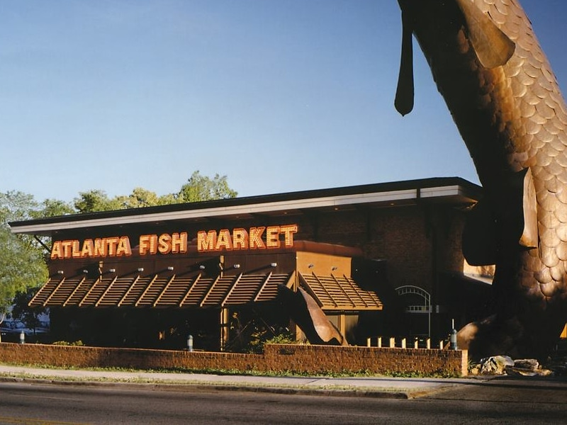 Onde comer frutos do mar em Atlanta