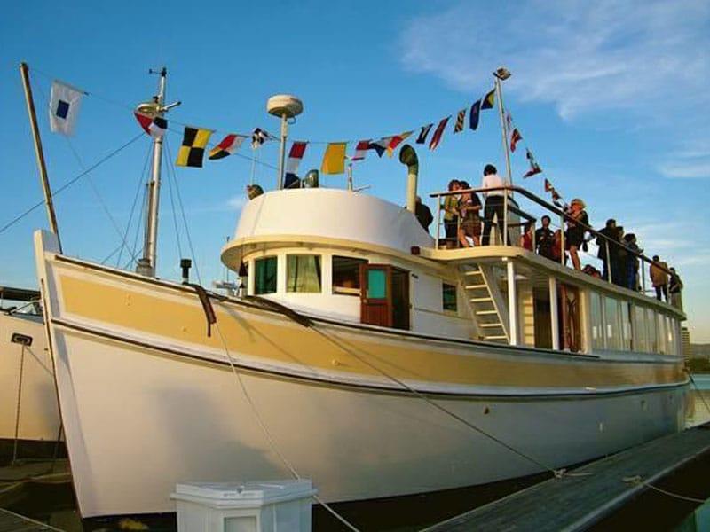 Barcos hoteis para se hospedar nos Estados Unidos