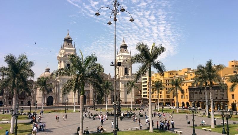 Como é o transporte em Lima
