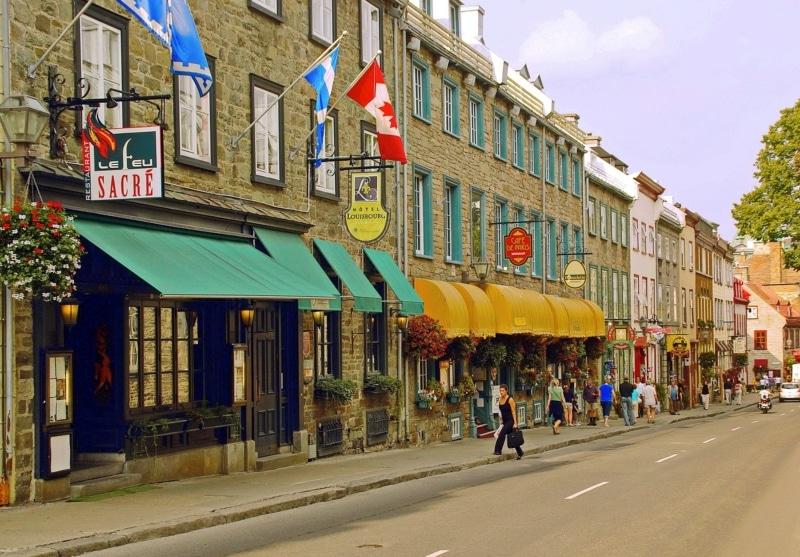 Cidades históricas do Canadá