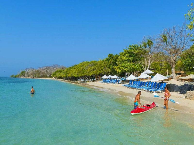 Melhor época para o Caribe Colombiano