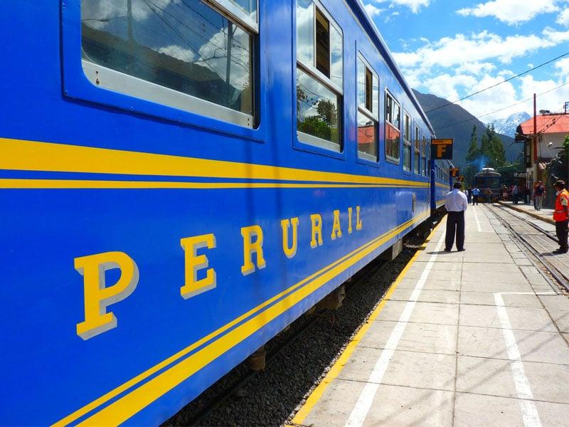 Como chegar em Machu Picchu de trem