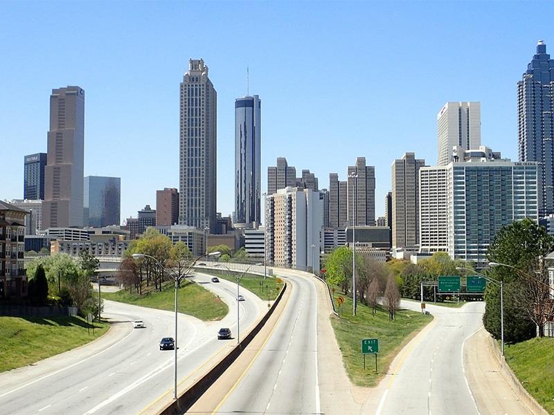 Locar carro em Atlanta