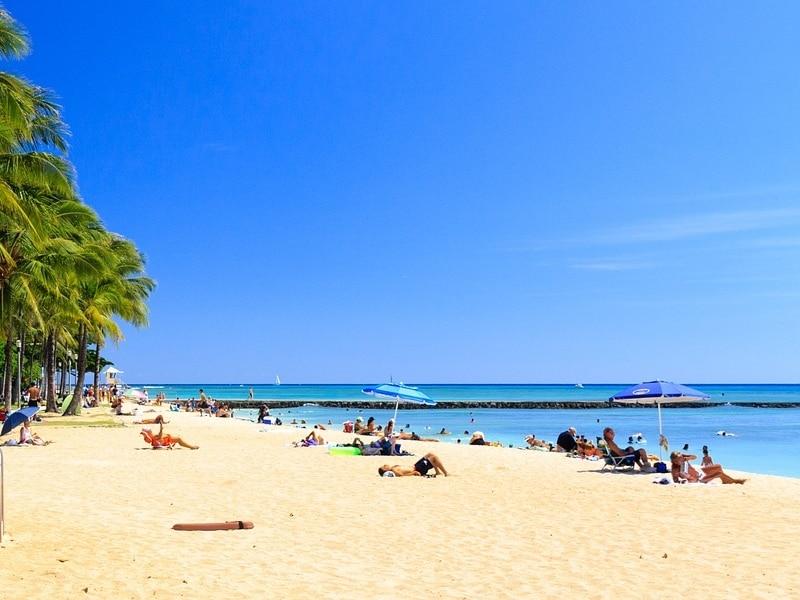 Melhores praias dos Estados Unidos