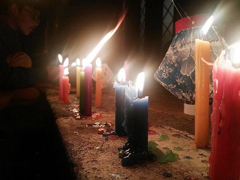 Dia das velas Colômbia