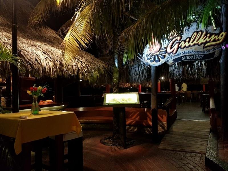 Restaurantes em frente ao mar em Curaçao