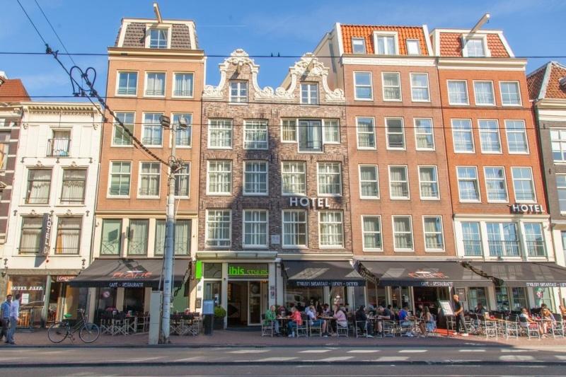 onde se hospedar no centro histórico de amsterdam