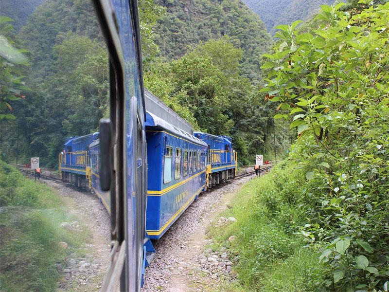 Qual trem para Machu Picchu