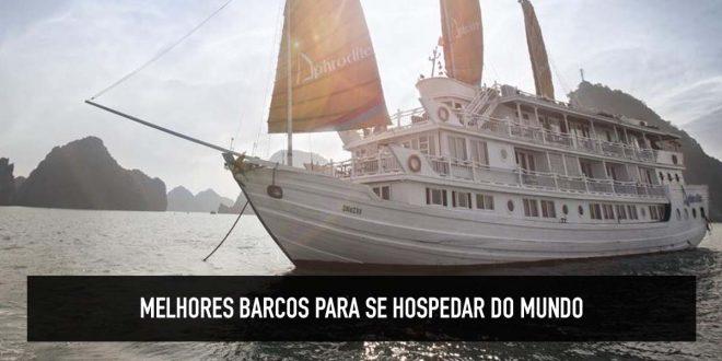 Barcos hoteis no mundo