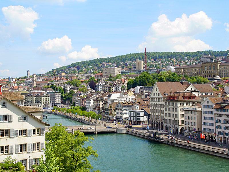 Qual moeda levar para Suíça