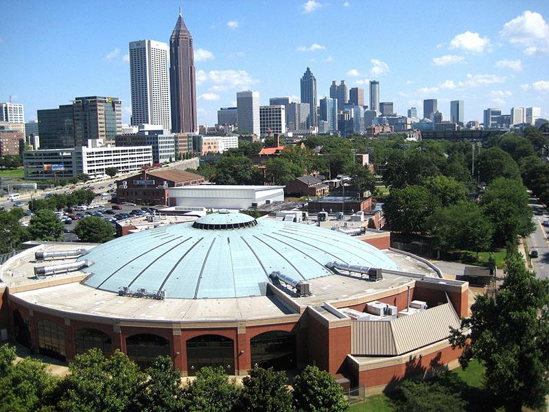 Quanto gasto em Atlanta por dia?