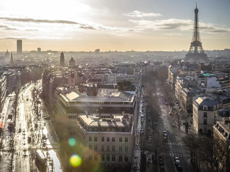 Paris em novembro 2018