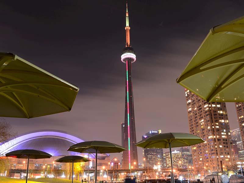 Pontos turísticos no Canadá