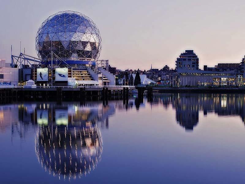 Regiões turisticas do Canadá