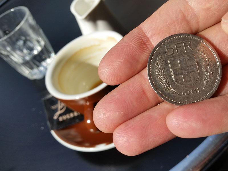 Como usar dinheiro na Suiça