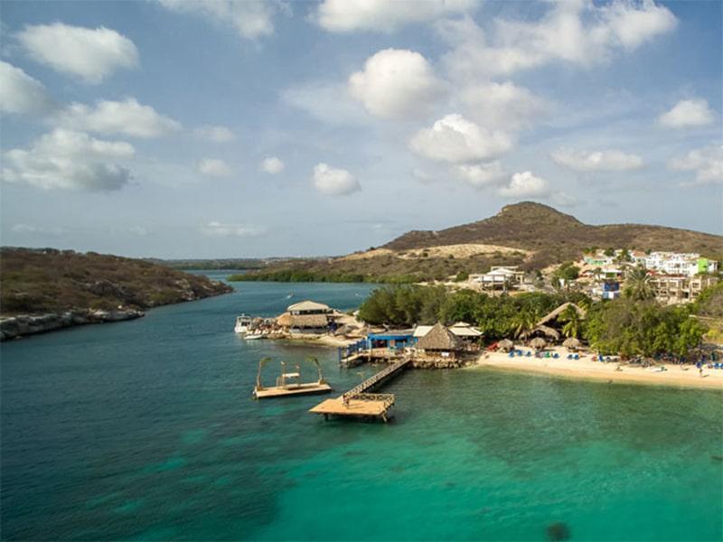 Praias particulares em Curaçao