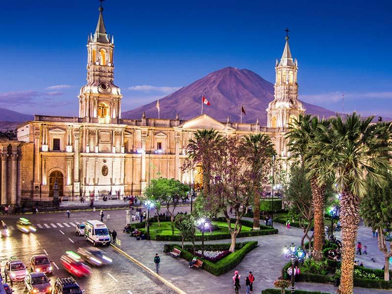 pontos turísticos do Peru arequipa