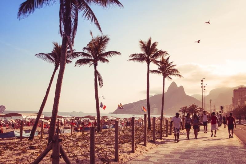 Como chegar a praia no Rio de Janeiro
