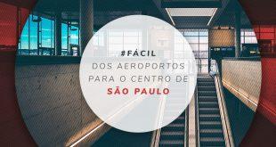 Transporte público no aeroporto de São Paulo