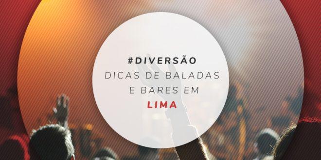 Bares em Lima