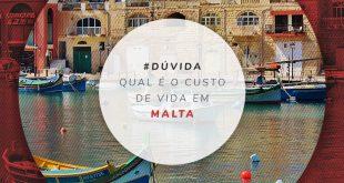 Quanto custa viver em Malta