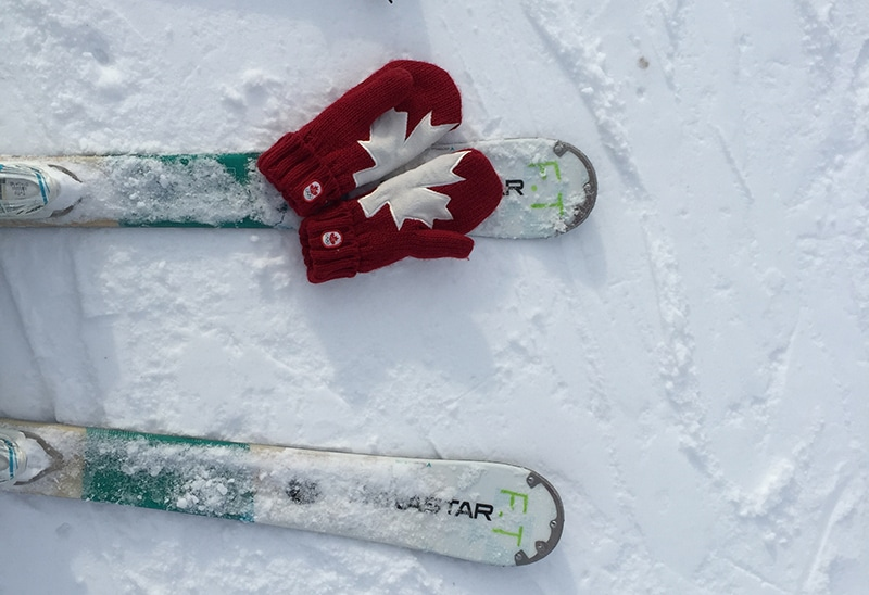 Para onde ir no inverno no Canadá