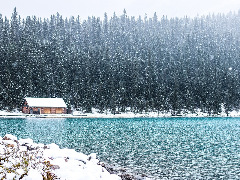 Lake louise atrativos Canadá