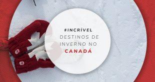 Lugares com neve no Canadá