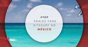 Melhores praias do México para kitesurf