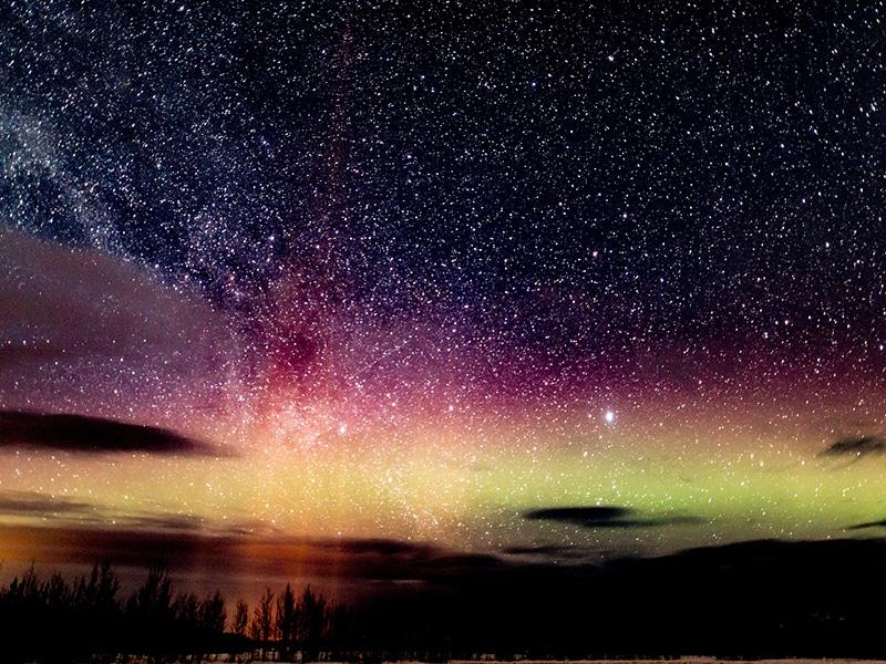 Cidades para ver a aurora boreal no mundo