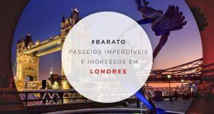 Ingressos antecipados para atrações de Londres