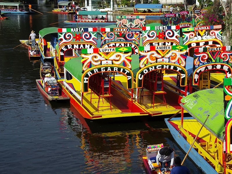 Xochimilco onde fica