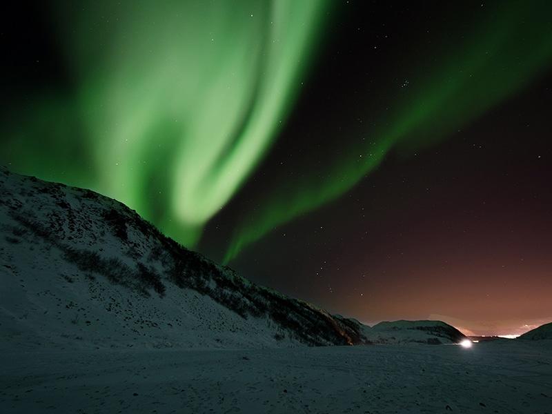 Aurora boreal Canadá